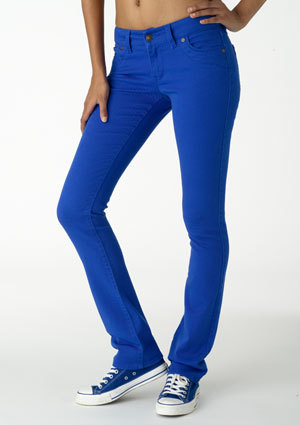Morgan Low-Rise Skinny Jean - Lake Blue