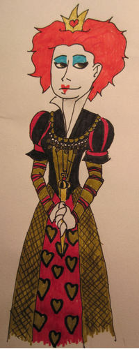 My Red Queen Drawing