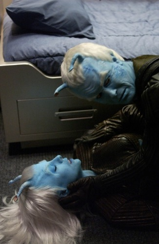 Shran and Talas