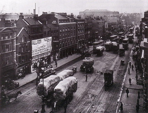 Whitechapel High strada, via 1914