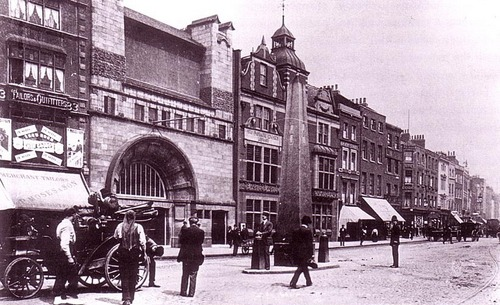 Whitechapel High jalan, street 1905