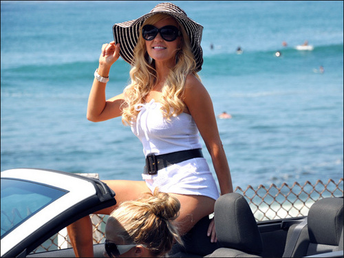 Bridget Marquardt - Bridget's Sexiest Beaches -Southern California