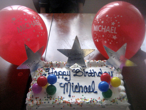 Happy Birthday Michael! 8-29-09