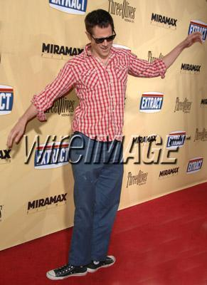 "Johnny Knoxville arrives at the Los Angeles premiere of ""Extract"" on August 24, 2009 in Hollywood"