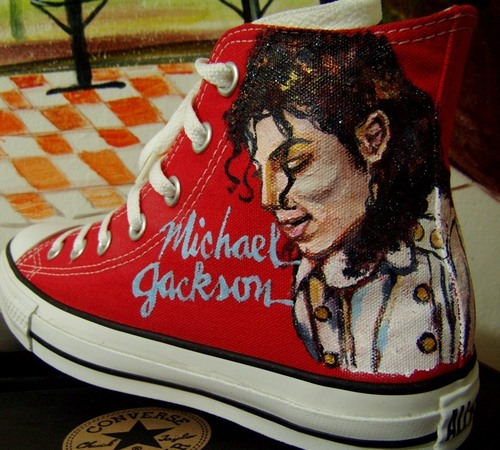 Michael on Convers (hand painted)