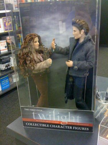 New edward & bella anak patung :D