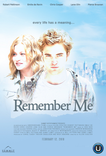Remember Me fan Made Poster!