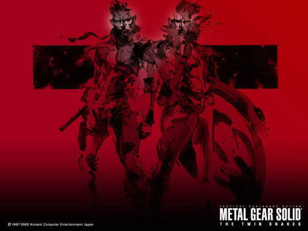The Twin Snakes Metal Gear Solid Wallpaper 7903249 Fanpop
