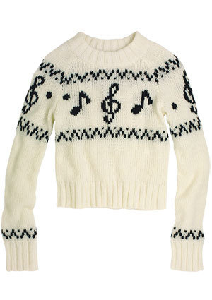Taryn Music Note Sweater