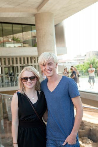 Visiting the acropolis Museum Candids: August 29th, 2009