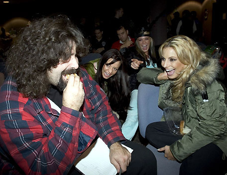 Mick Foley & the Divas