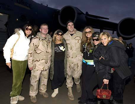 Divas Tribute to the Troops