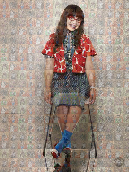 (ugly) betty mosaic