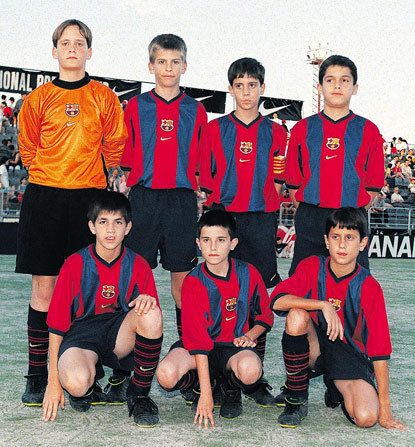 From Cesc's old Barca days!