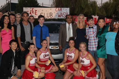 glee Cast @ glee Premiere Party (Sept 09)