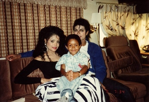 Michael with LaToya & Emanuel Luis