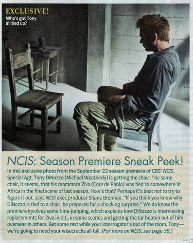 NCIS TV Guide Scans