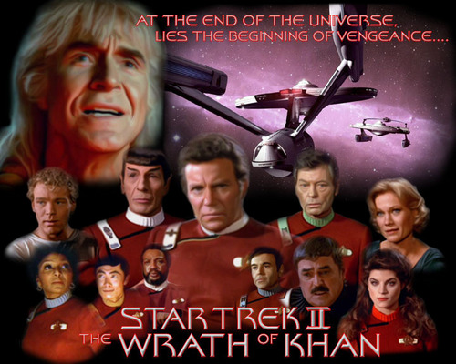 星, 星级 Trek II The Wrath of Khan