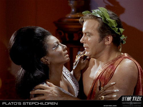 Uhura and Kirk