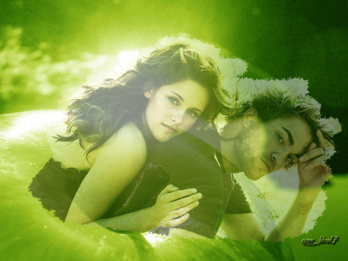 rob and kristen and सेब too