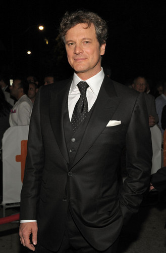 Colin Firth at Toronto International Film Festival screening of A Single Man