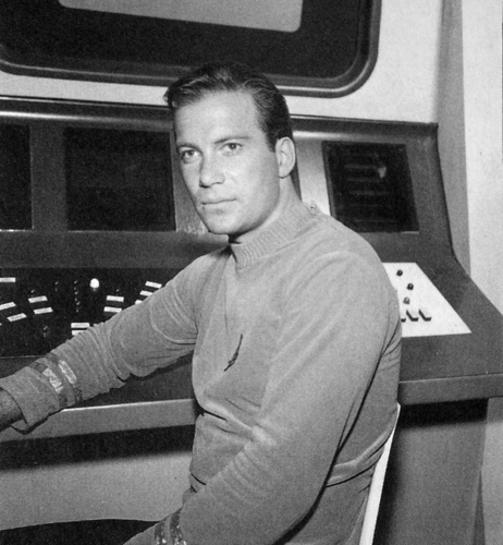 KIRK on the bridge