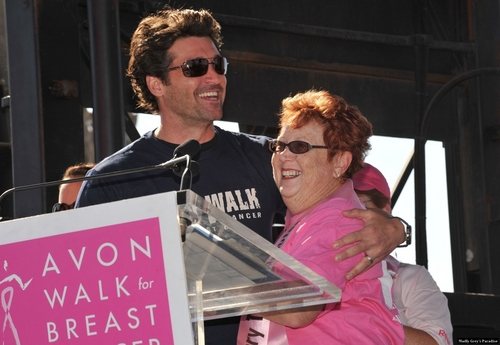 Patrick Dempsey at 'Avon Walk for Breast Cancer'