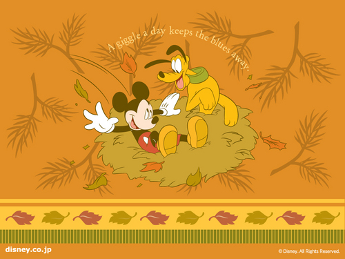 A Giggle A Day Disney Wallpaper
