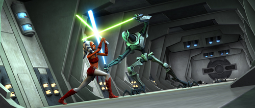 Ahsoka Great Fight!