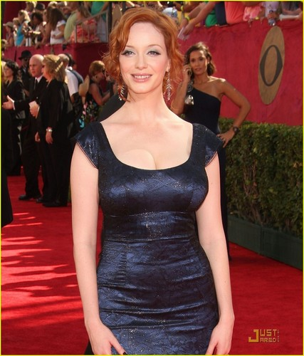 Christina Hendricks @ the 2009 Emmy Awards