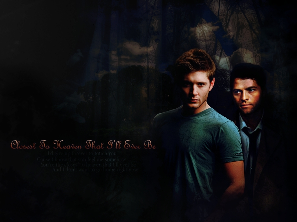 Dean And Castiel Supernatural Wallpaper 8249250 Fanpop