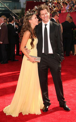 J&J Arrive @ the 2009 PrimeTime Emmy Awards