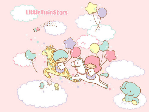 Little Twin Stars 壁紙