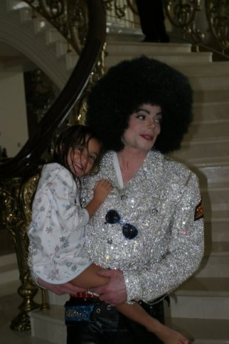 Michael with Afro :)