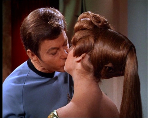 Natira's KISS to McCoy