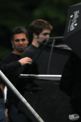 Rob on set september 19