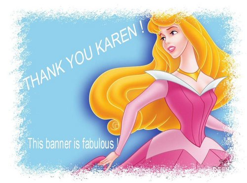 Thank tu Karen for the new banner !
