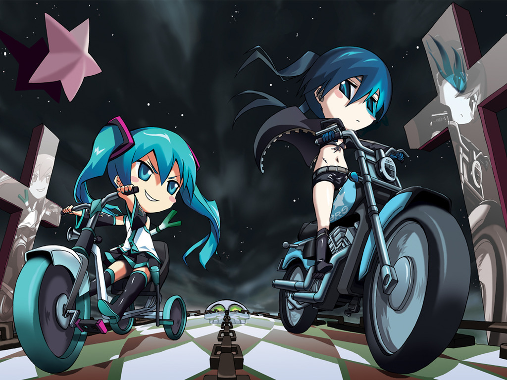 Black Rock Shooter Vocaloid 壁紙 ボーカロイド 壁紙 8317075