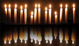https://images2.fanpop.com/images/photos/8300000/Reflection-candles-8388445-275-160.jpg