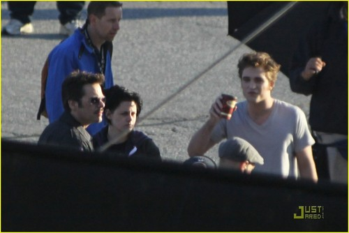 on set of eclipse