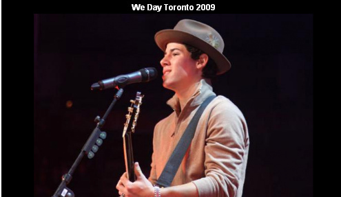 Free The Children: We Day in Toronto. 5.10.09