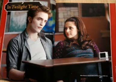 Bella and Edward from movie compilation