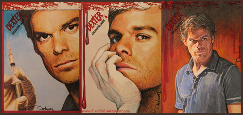 Dexter - SDCC Collector Cards