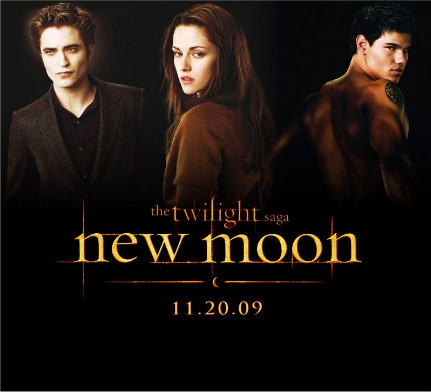 Edward, Bella & Jacob Promo Poster