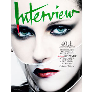 New Pics of KStew From Interview Magazine