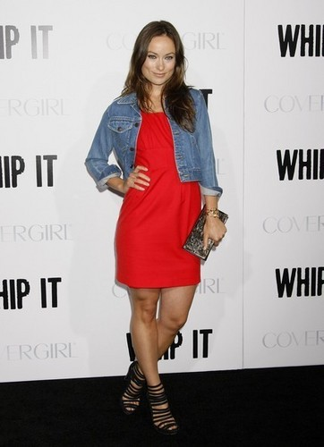 Olivia@'Whip It' Los Angeles Premiere