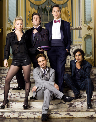 Jim/Kaley and the BBT cast on Watch magazine (Sep 2009)