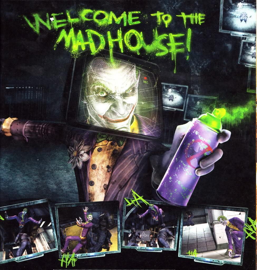 Joker - Batman Arkham Asylum Photo (8528878) - Fanpop