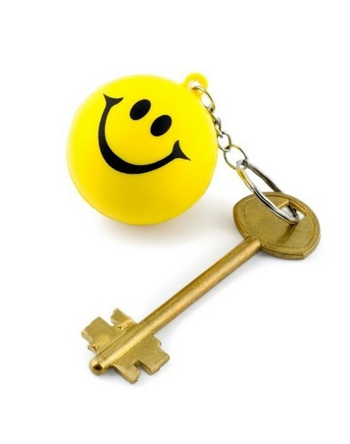 Key of happiness ...