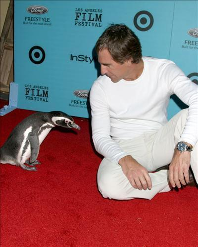 Scott Bakula loves 动物